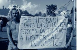 """Credits photo:Isabel Burr, archivo sacrofilmsSource: """"los derechos del pueblo Rapa Nui"""", IWGIA, 2012."""